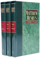 Matthew Henry's Commentary (6 Vol Set) Pack