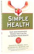 Simple Health Paperback