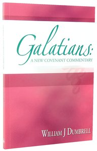 Galatians (New Covenant Commentary Series)