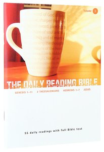 The Daily Reading Bible (Vol 03)