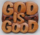 Magnet: Wood God is Good Novelty