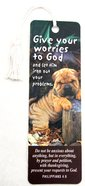 Bookmark With Tassel: Give Your Worries to God Stationery