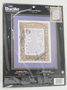 Cross Stitch: Lord's Prayer, the 28Cm X 36Cm Soft Goods