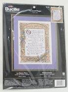 Cross Stitch: Lord's Prayer, The 28Cm X 36Cm