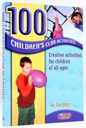 100 Children's Club Activities