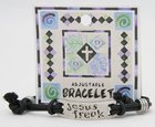 Cord Bracelet: Jesus Freak