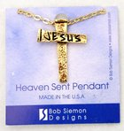 Cross Pendant: Jesus/Nail Jewellery