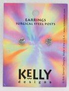 Earrings Kelly Design: Dove (Lead-free Pewter) Jewellery