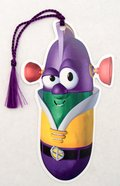 Bookmark With Tassel: Veggie Tales Larry Boy Stationery