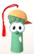 Bookmark With Tassel: Veggie Tales Junior Asparagus Stationery