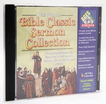 Ages Whole Bible Classic Sermon Collection CDROM Win & Mac