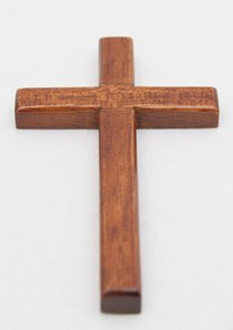 Cross 10Cm (Bevelled Edge, Hanging)