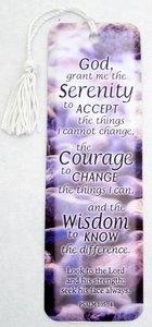 Tassel Bookmark: God Grant Me the Serenity