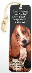 Tassel Bookmark: When Things Are Lookin Down Lord