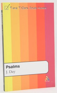 Psalms (T&t Clark Study Guides Series)