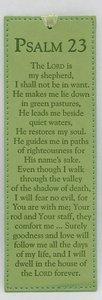 Bookmark Soft Tone: Psalm 23
