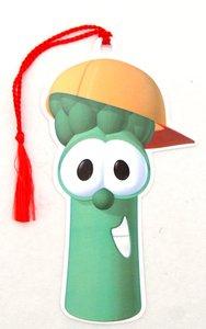 Tassel Bookmark: Veggie Tales Junior Asparagus