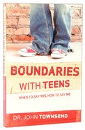 Boundaries With Teens Paperback