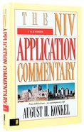 1 & 2 Kings (Niv Application Commentary Series) Hardback
