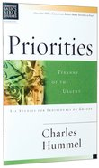 Priorities (Christian Basics Bible Study Series) Paperback