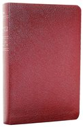 NLT New Believer's Burgundy Bonded Leather