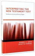Interpreting the New Testament Text Hardback
