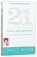 21 Ways to Finding Peace and Happiness Paperback