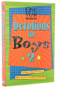 The One Year Devotions For Boys (Vol 2)
