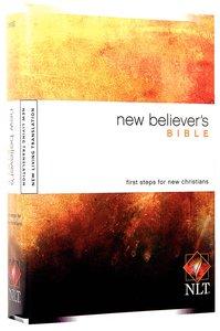 NLT New Believers Bible (Black Letter Edition)