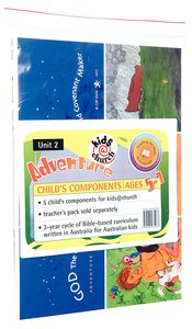 Kids@Church 02: Ad2 Ages 5-7 Child Components (5 Pack) (Adventure) (Kids@church Curriculum Series)