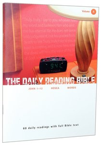 The Daily Reading Bible (Vol 08)