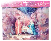 Advent Calendar: Nativity With Glitter