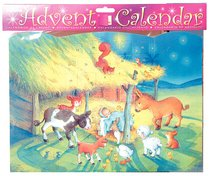 Advent Calendar: Baby Jesus With Glitter