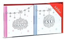 Christmas Boxed Cards: Immanuel Silver Foiled