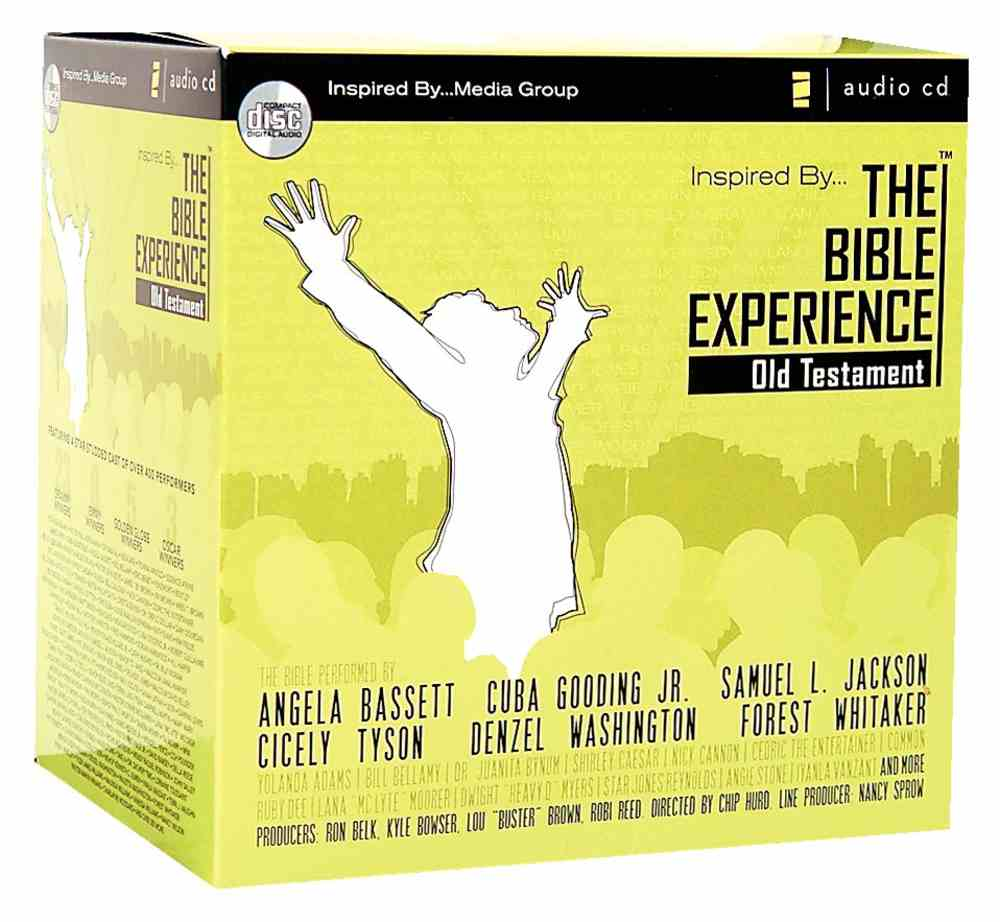 Inspired By    the Bible Experience Old Testament Audio CD