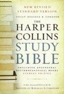 NRSV Harper Collins Study Student Hardback