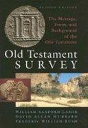 Old Testament Survey (Rev 2nd Ed)