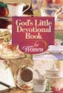 God's Little Devotional Book For Women Mass Market