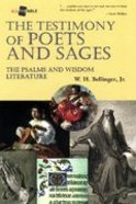The Testimony of Poets and Sages Paperback