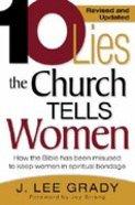 10 Lies the Church Tells Women Paperback