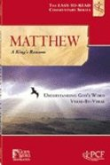 Matthew (A King's Ransome) (Easy To Read Devotional Commentary Series) Paperback