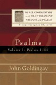 Psalms 1-41 (Volume 1) (Baker Commentary On The Old Testament Wisdom And Psalms Series)