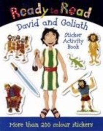 David and Goliath (Sticker Book) (Ready To Read Series)