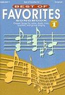 Best of Favourites V1 (Music Book) Paperback