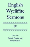 English Wycliffite Sermons V4 Hardback