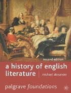 A History of English Literature Paperback