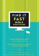 Find It Fast in the Bible CDROM