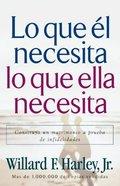 Lo Que El Necesita, Lo Que Elle Necesita (His Needs, Her Needs)