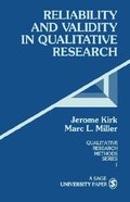 Reliability and Validity in Qualitative Research Paperback