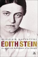 Edith Stein Hardback